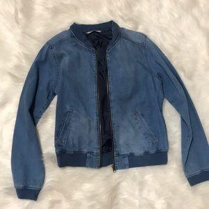 Highway Jeans Bomber Jacket | Medium